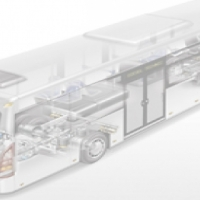 Bus parts for the cooling system: