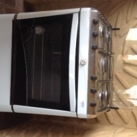 5 Burner gas stove with oven