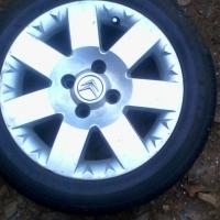 Citroen mag wheel