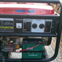 5500W single phase generator for sale