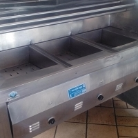 Deep Fryer 3 Pan