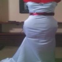 White wedding or matric dance dress