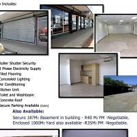 RETAIL RENTAL Space 165m2 available in Busy Area