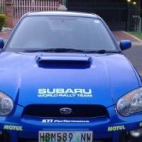 Ek het ? 2003 Subaru Impreza 2.0T WRX wat ek wil ruil vir ? Hyundai H100 bakkie.