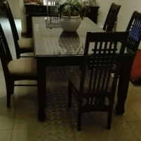Dining room suite - solid wood - excellent condition