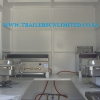((((( CATERING FOOD TRAILER 12 )))))