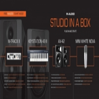M-Audio studio in a box new with warranty