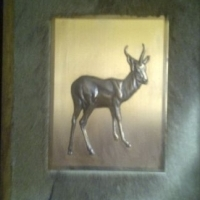Springbok Copper Wall Plaque