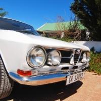 Alfa Giulia 1750 mk1 coupe 1968 in excellent condition