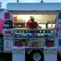 ((((( CATERING FOOD TRAILER 3 )))))
