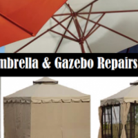 Gazebo, Umbrella and Tent repairs and Side Panels.