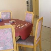 Hexagonal Oak/Beechwood Dining Room Suite