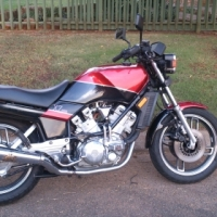 Yamaha XZ 550 R 1982 very rare model