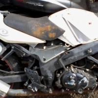 CLEAR OUT SALE;bashan 250rr complete bike parts at clives bikes