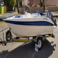 2007 Explorer 190 with 2x 70Hp Yamaha Motors for sale  West Rand