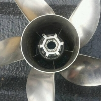 5 blade stainless steel boat prop