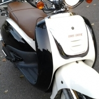 White and black 150cc big boy scooter R6500