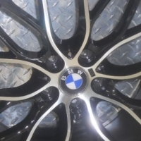 """18"""" BMW M PERFORMANCE MAGS & GOODYEAR RUNFLAT TYRES"""
