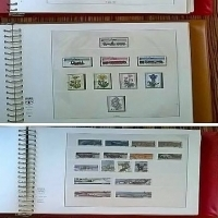 Large Stamp collection from all over the world