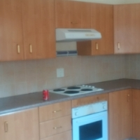 kitchen cuboards with stove