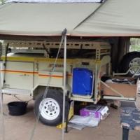 Camper Trailer - Botswana special