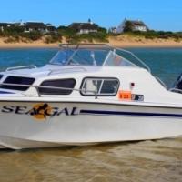 Baronett 17 ft Cabin Boat