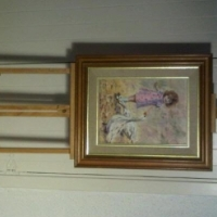 ERNA DU TOIT ORIGINAL PAINTING WITH EASEL