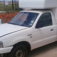 a Ford Ranger NON RUNNER!!! 2006 with canopy
