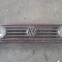 Golf 2 gti grill +2 spotlights for sale