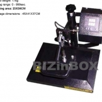 23 x 30 Flat Heat presses for tshirts, puzzles, mousepads and more all new with 12 year warranty