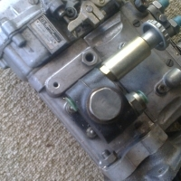 Isuzu, older model, diesel pump: 101421-4870