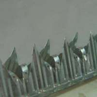 Vibracrete spikes and wall spikes