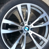 SECOND HAND  20 INCH  MOTORS SPORT MAGS FOR BMW X5.