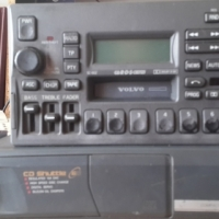 volvo v series RADIO,TAPE AND 6 CD SHUTTLE
