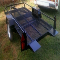 Single Axel Quad or Golf Cart trailer for sale in Midrand