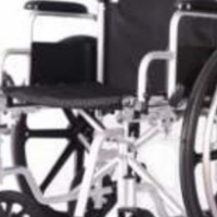 Aluminium 'Light' wheel chair