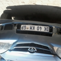 Toyota avanza 2011 to swap with a Toyota yaris plus R10 000