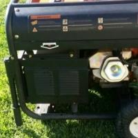 Grip petrol generator