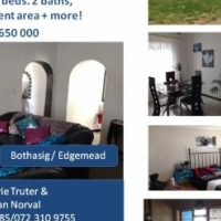 Bothasig/Edgemead stunning 3 beds with 2 bathrooms & so much more!