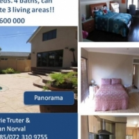 Panorama modern 5 beds double story with flat let and allot more!!!