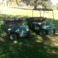 yamaha utility golf carts for sale