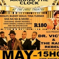 ROCK AROUND THE CLOCK & DR VICTOR AND THE RASTA REBELS LIVE SHOW