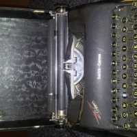 typewriter 1949 smith corona