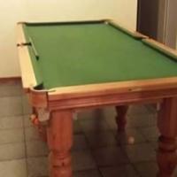 Soliede Oak Pool Tafel