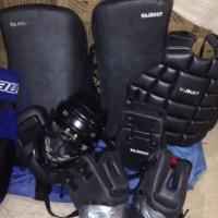 Black Feild Hockey Keeper Kit