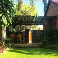 FURNISHED upmarket secure cluster home (sleeps 5) in Die Hoewes, Centurion