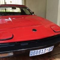 Triumph TR7 - Red, 2 door, sunroof