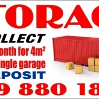 STORAGE AND SELF-STORAGE , we collect !