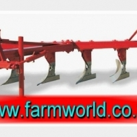 S172 New BPI 7 Furrow Mouldboard Plough With Wheel (OPLS7)