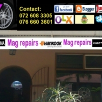 EXCELLENT CONDITION MAGS AND TYRES